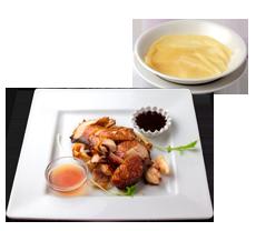 香港風鶏もも肉のパリパリ揚げ (薄皮包み) 1780