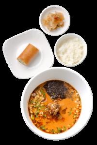寒舎 黒胡麻担々麺
