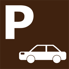 寒舎専用駐車場