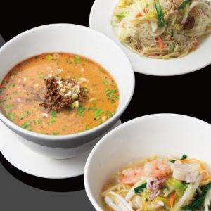 多彩な麺料理から「本日の麺料理」寒舎ひばりヶ丘
